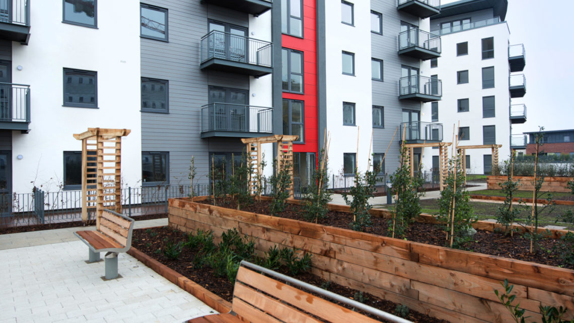 Centenary quay Southampton Apartment block
