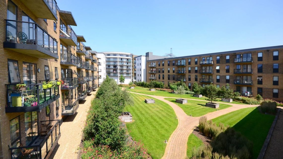 Development at Plough Lane Wimbledon London