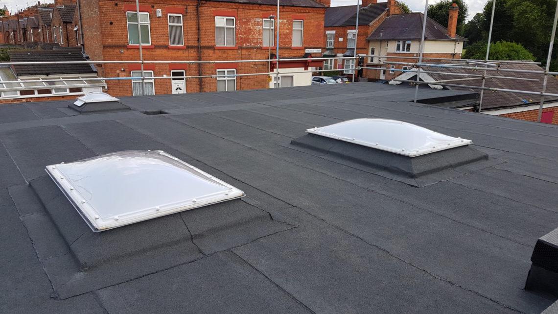 knighton fields primary school waterproof roof